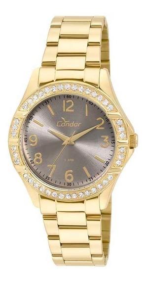Relógio Condor Feminino Co2035kus/4c Dourado Analogico