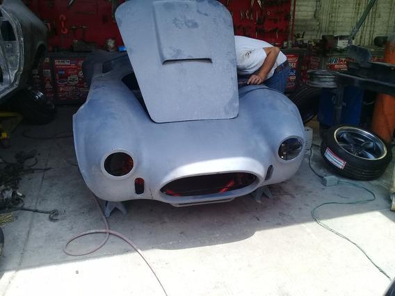 Shelby Cobra Carroceria Fibra Vidrio Y Chasis Como Proyecto