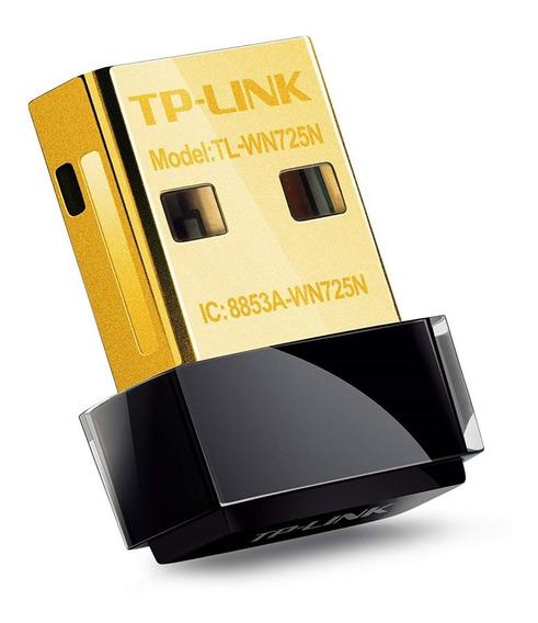 Adaptador Nano Usb Wifi Placa De Red Tp Link Wn725n 150mbps