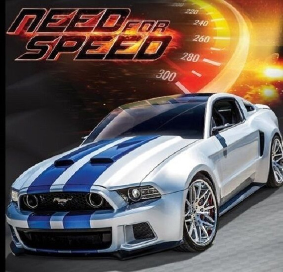 Miniatura Ford Mustang Gt Street Racer Need For Speed 2014