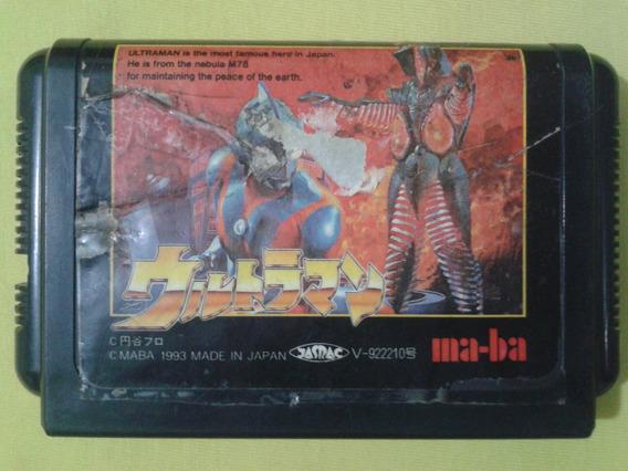 Ultraman - Original Mega Drive Japonês - Ler Anúncio