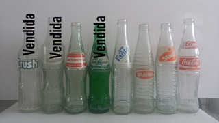 Garrafas Antigas Diversos Refrigerantes (vidro 290 Ml)
