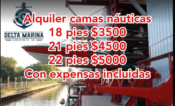 Camas Nauticas 18, 21 Y 22 Pies En Delta Marina