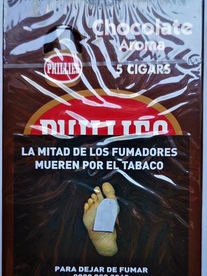 Phillies Blunt Chocolate X5 Cigarros Habanos Sabor