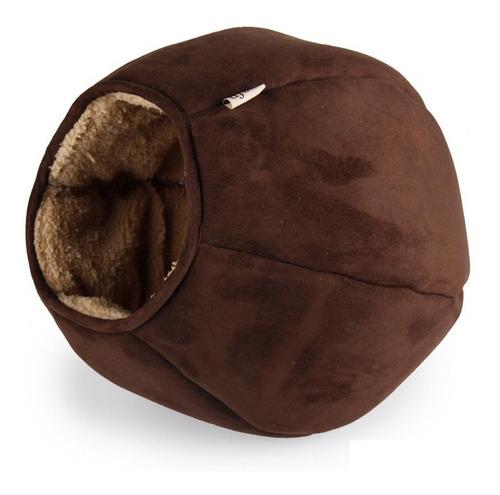 Cama Para Gatos Color Chocolate 30x30x30cm Mas Envio