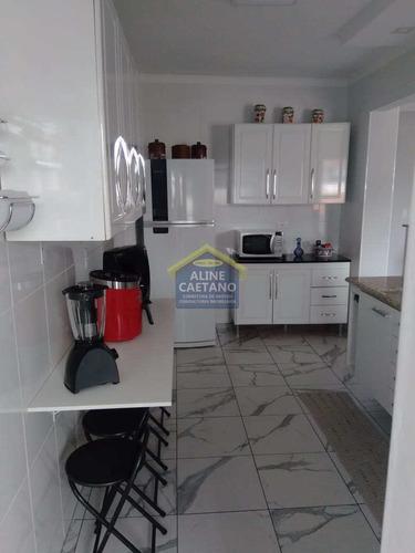 Apto. Com 2 Dorms, Tupi, Praia Grande - R$ 260 Mil - Vact1232