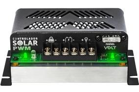 Controlador De Carga Solar 12v/24v Pwm 20a - Volt