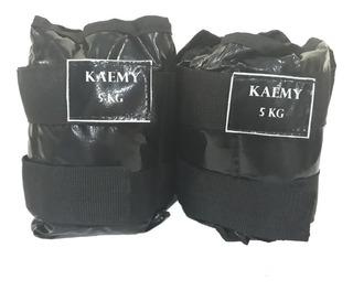 Tornozeleira De Peso 5 Kilos - Par