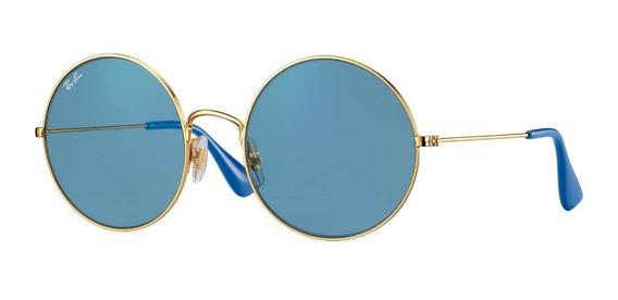 Óculos Ray Ban Ja-jo Rb3592 Azul Original