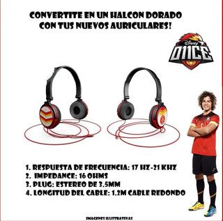 Once Auriculares O11ce Iad Disney Halcones Dorados Serie Tv