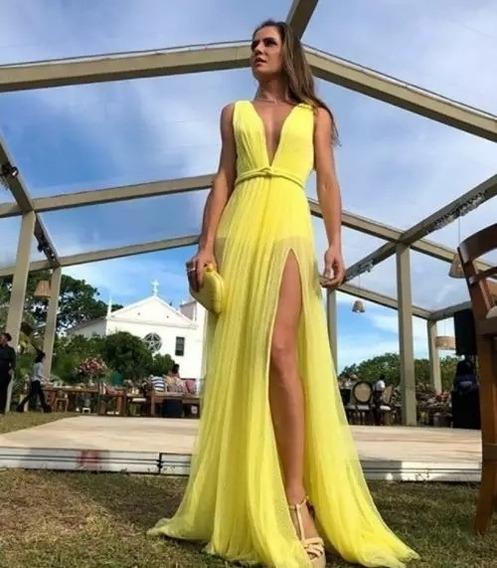 Vestido De Fiesta Largo (sunshine)