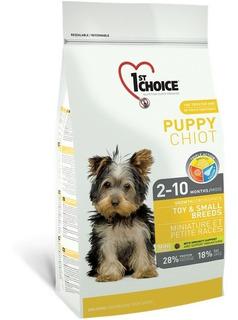 1st Choice Alimento Perro Cachorro Raza Pequeña 2.72 Kg