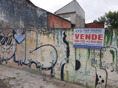 Imagem 1 de 7 de Terreno Para Venda Em Guarulhos, Continental Ii - 6687ok_1-1428084