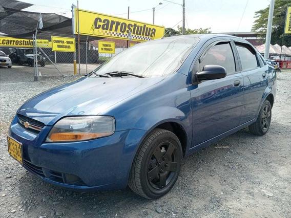 Chevrolet Aveo Sedan Ls Mecanico Azul Mod 2012