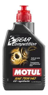 1 Litro Motul Gear Competition 75w-140 Sintetico El Mejor