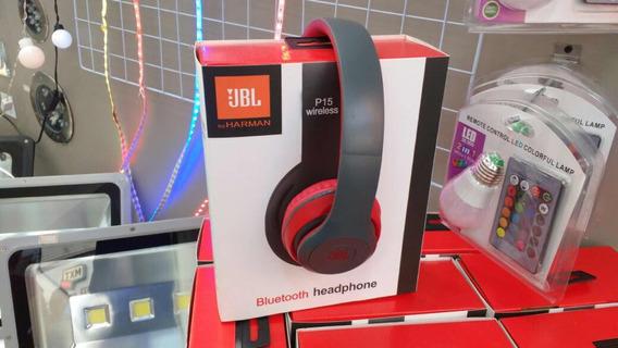 Fone Bluetooth Sem Fio Headphone Jbl P15