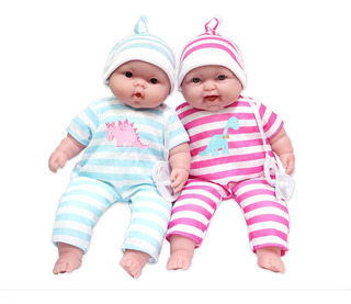 Lots To Cuddle Babies, Muñeca Suave De 13.0 In Para Bebé, D