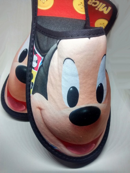 Pantuflas Mickey Disney , Leer Preg. Frec. (foto3)
