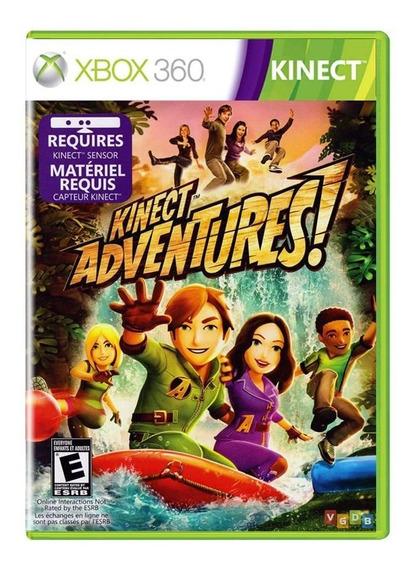 Kinect Adventures Pal Europeu Xbox 360 Midia Fisica