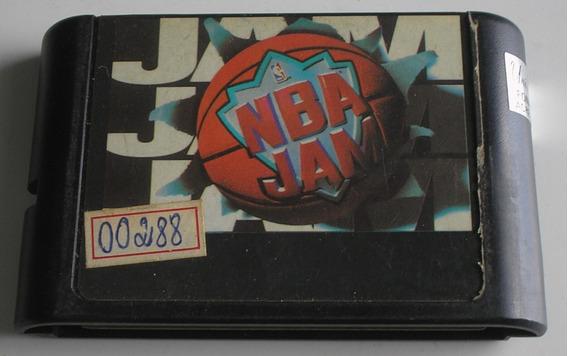 Nba Jam Mega Drive Paralelo Usada Funcionando