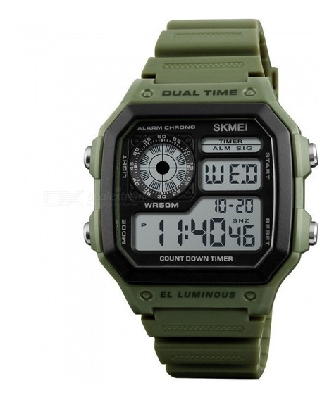 Relógio Masculino Skmei 1299 Digital 4 Cores Diferentes