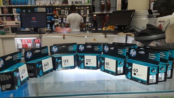 Cartuchos Hp 122n,c 60n 662n,c Original Hp Precio X Unidad