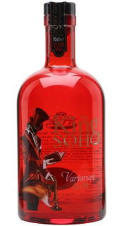 Gin King Of Soho Rojo Vaiorum Gin Ingles Importado