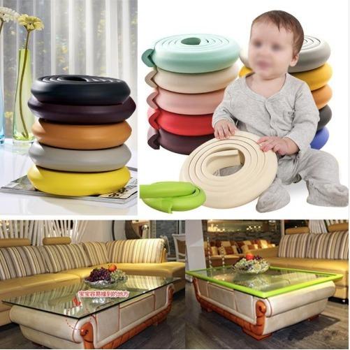Bumper Seguridad Bebés Protector Esquinas Mesas Muebles