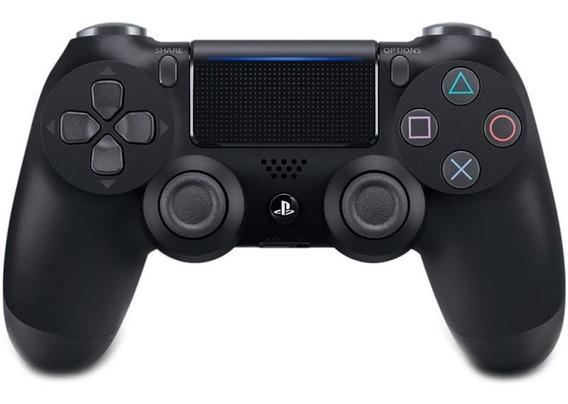 Joystick Dualshock Sem Fio Para Ps4 Preto Sony Cuh-zct2u