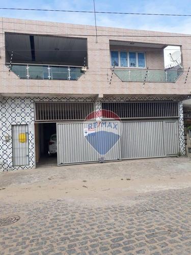 Casa Com 4 Dormitórios À Venda, 200 M² - Felipe Camarão - Natal/rn - Ca0173