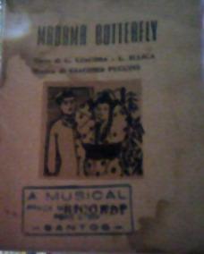 Madama Butterfly-g. Giacosa/giacomo Puccini-libretto