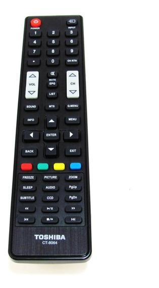 Controle Remoto Toshiba 32l1500 40l1500 Ct-8064 Original +nf