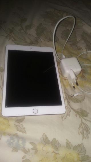 iPad Mini 3 128gb + Carregador + Capinha Anti Impacto