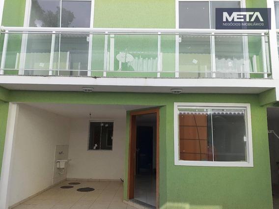 Casa Com 3 Dormitórios À Venda, 80 M² Por R$ 280.000,00 - Oswaldo Cruz - Rio De Janeiro/rj - Ca0039