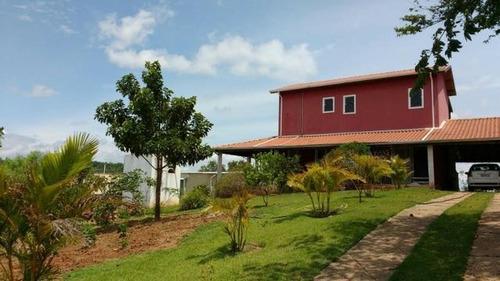 Chácara Com 2 Dormitórios À Venda, 230 M² Por R$ 465.000,00 - Loteamento Chácaras Gargantilhas - Campinas/sp - Ch0417