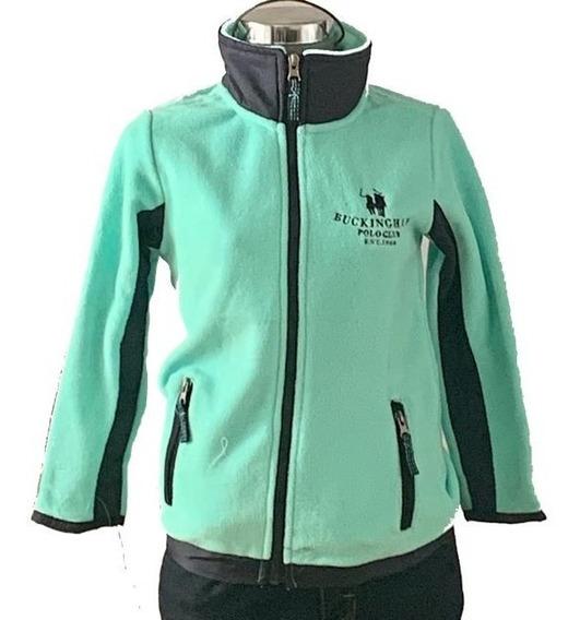 Sudadera Bicolor De Niñas Marca Polo Club 4 Colores