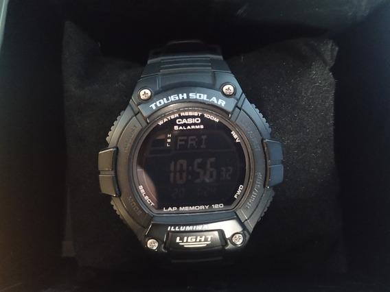 Relógio Casio Tough Solar - W-s220 -completo
