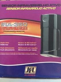 Sensor Infravermelho Ativo Barreira Alarme Ira 360 Duplo Jfl