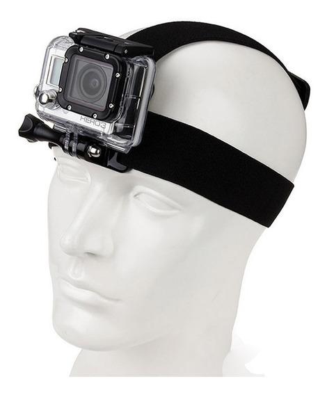 Faixa P/ Cabeça E Suporte Quickclip Para Câmeras Esportivas