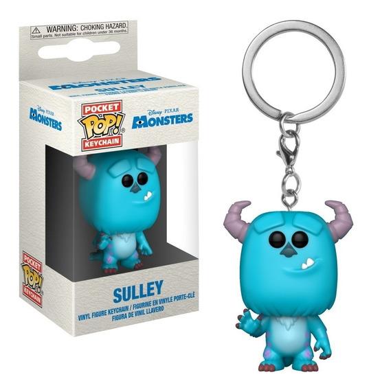 Llavero Funko Pop Sulley Monsters U - Disney Coleccionables