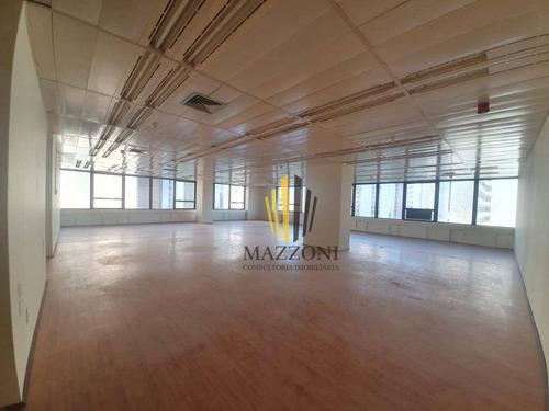 Empresarial Center Ii | Sala De 224m² | Bem Luminosa | Excelente Localização | 03 Vagas De Garagem | Aluguel R$ 10.000 - Sa0116