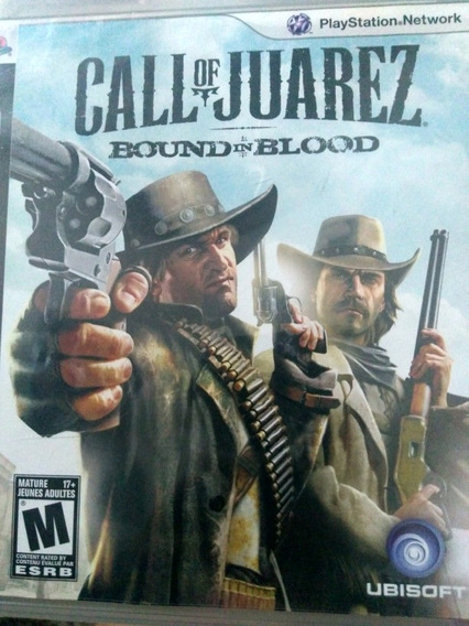 Call Of Juarez Bound In Blood Ps3 , Midia Fisica