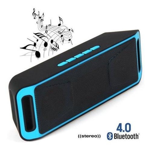 Parlante Bluetooth Stereo Con Manos Libres Lector De Memoria
