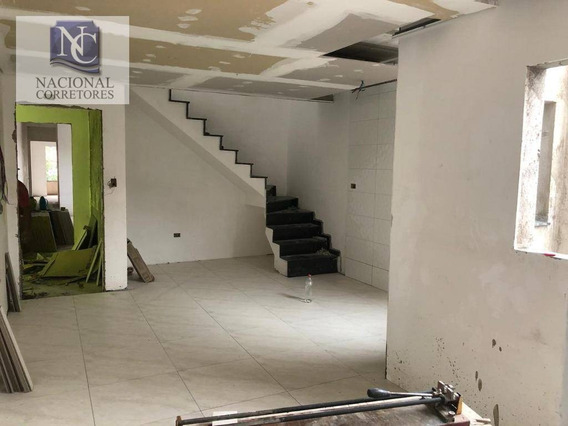 Cobertura Com 2 Dormitórios À Venda, 98 M² Por R$ 280.000 - Parque Das Nações - Santo André/sp - Co4380