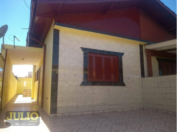 Casa Com 3 Dormitórios Na 1ª Quadra Da Pista, 82 M² Por R$ 182.000 - Flórida Mirim - Mongaguá/sp - Ca3029