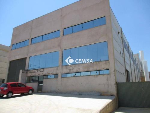 Imagem 1 de 5 de Galpão Para Alugar, 1088 M² - Centro Empresarial De Indaiatuba - Indaiatuba/sp - Ga0091