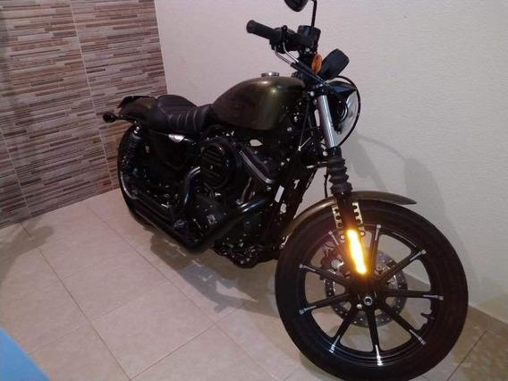 Harley Davidson Xl 883 C/ 700 Km