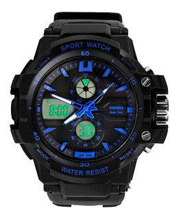 Reloj Deportivo Con Luz Sumergible Cronometro Skmei 990