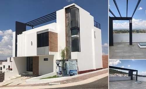 Residencia En Punta Esmeralda, En Esquina, Roof Garden, 3 Recamaras, Jardín