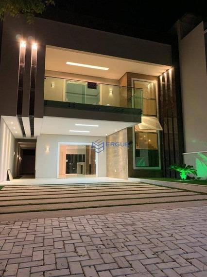 Casa Com 4 Dormitórios À Venda, 253 M² Por R$ 950.000 - Maraponga - Fortaleza/ce - Ca0925